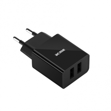 Зарядное устройство ACME CH204 Wall charger 2.4A (2 USB) одновременная зарядка 2-ух устройств [1у]
