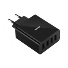 Зарядное устройство ACME CH207 Wall charger 5A (4 USB) одновременная зарядка до 4-ёх устройств [1у]
