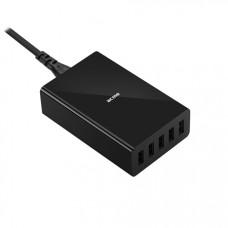 Зарядное устройство ACME CH208 Wall charger 8A (5 USB) одновременная зарядка до 5-и устройств [1у]