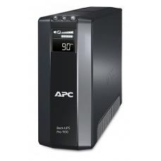 ИБП APC Back-UPS Pro BR900G-RS 900VA/540W 4 розеток IEC-320+4 розеток IEC-320 без резервного питания USB LCD [1]