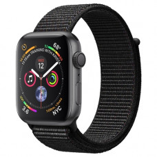 Смарт-часы Apple Watch Series 4 GPS 40mm Space Grey Aluminum Case with Black Sport Loop [1у]