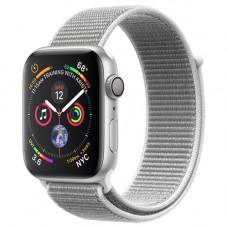 Смарт-часы Apple Watch Series 4 GPS 44mm Silver Aluminum Case with White Sport Loop [1у]