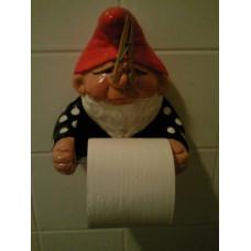 Бумага туалетная Гномик, без втулки 1шт (8) [1у]