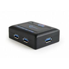 Концентратор GEMBIRD UHB-C344 USB 3.0 4 ports, black [1]