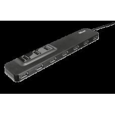 Концентратор TRUST Oila 10 Port USB 2.0 Hub с блоком питания арт.20575 [1]