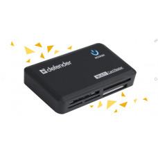Картридер внешний DEFENDER Optimus (83501), USB 2.0, 5 слотов [тема2]