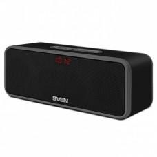 Аудио система SVEN PS-170BL, 10W, microSD+FM+Bluetooth, черный цвет, материал - пластик [тема2]